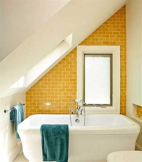 25 modern bathroom ideas adding yellow accents to bathroom