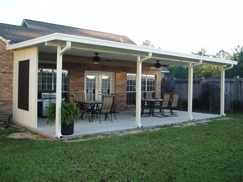 covered patio with gutters   Google Search   Yard