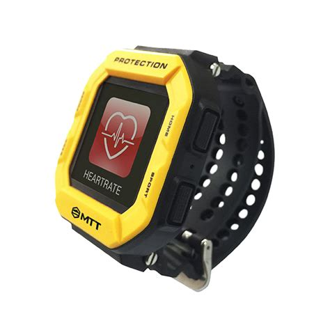Rugged Smartwatch by Mtt Tough Smartwatch Is Waterproof And Shockproof