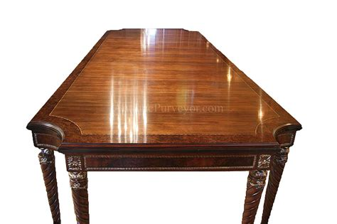 dining table with gold legs walnut dining table opens to 132 inches