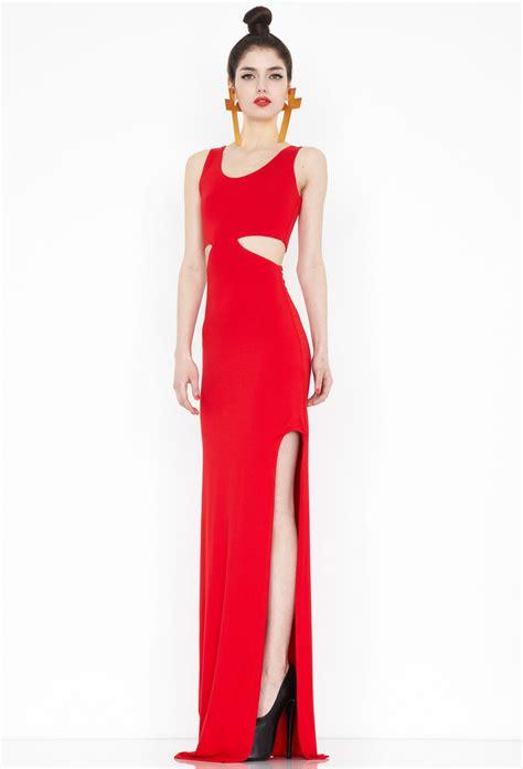 Dress Maxi Tasiena tatianna cut out maxi dress aq aq
