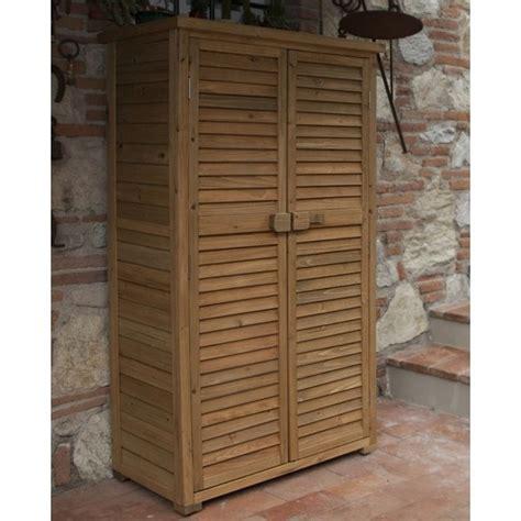 armadio da esterno armadio da esterno in legno armadi di servizio le