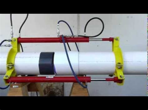 Big Pipe Plumbing by 174 Solvent Cementing Large Diameter Pvc Pipe And