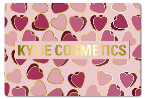 Kylie Cosmetics Gift Card - 5 valentine s gift ideas for the beauty junkie fuzzable