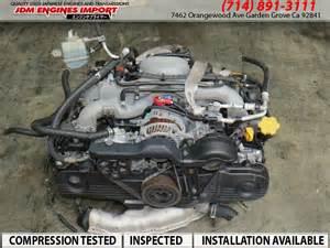Subaru Baja Motor Jdm 99 05 Subaru Ej25 2 5l Sohc Engine Ej255 Impreza