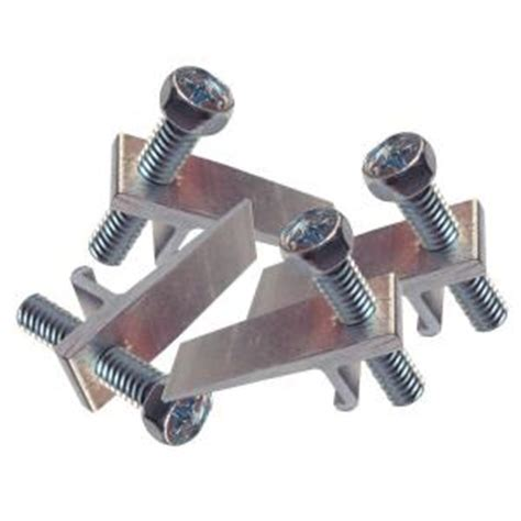Kitchen Sink Fasteners Keeney Manufacturing Company Sink For Kitchen Sink 10 Pack Pp826 82l The Home Depot