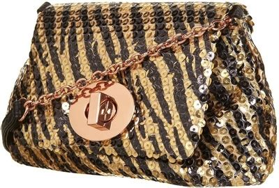 Tods Boomerang Pochette by Sequined Animal Print Bag 8 Animal Print Must Haves