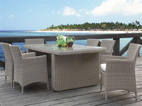 table 6 fauteuils jardin kuopio r 233 sine tress 233 e beige