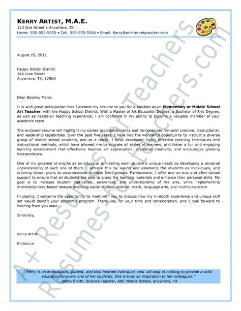 letter of application letter of interest kindergarten teacher