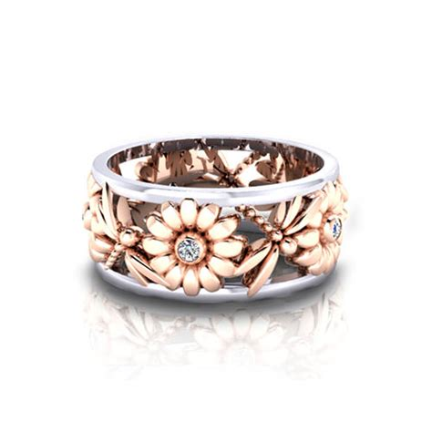 Jewelry Wedding Rings by Dragonfly Wedding Ring Jewelry Designs