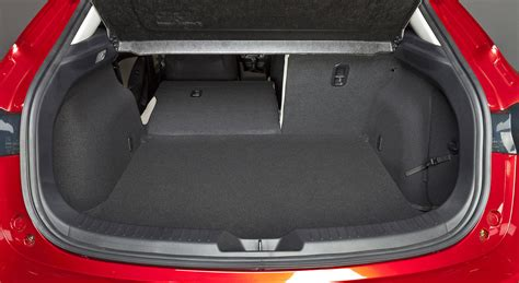 mazda 3 hatchback trunk space mazda 3 3 fastback sizes dimensions guide carwow