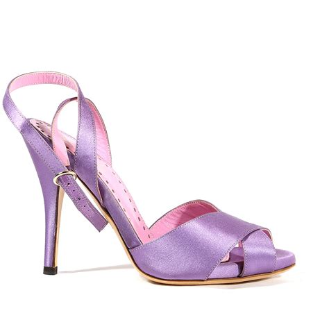 ysl lilac sandal yves laurent shoes for ysl24