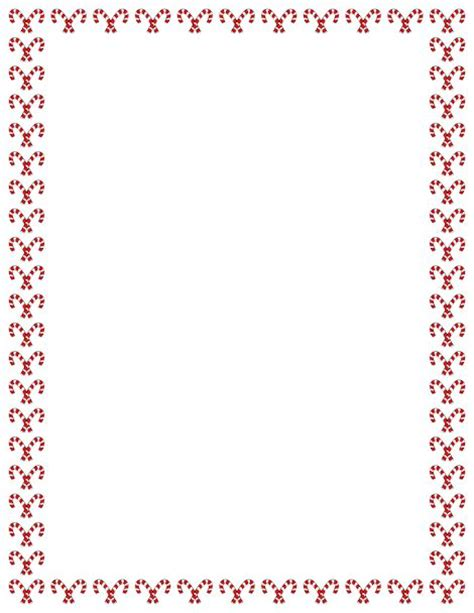 christmas themed borders a christmas themed border with candy canes free image and