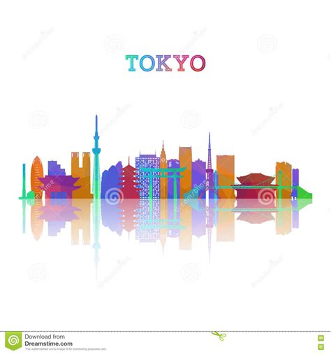 Japanese Style House Plans tokyo skyline silhouette stock vector image 75749785