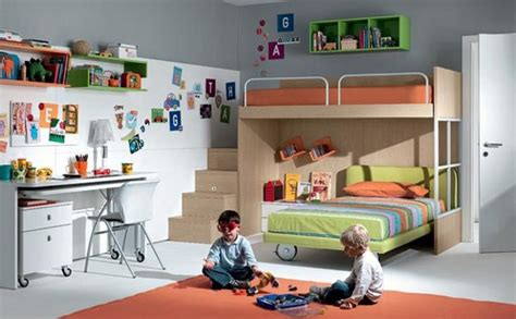 shared kids bedroom ideas shared boys room with bunk beds decoist