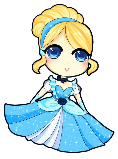 chibi cinderella by rinadon on deviantart