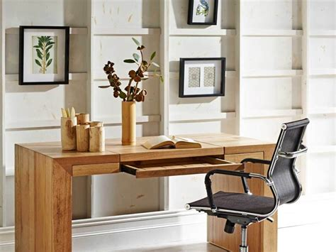 Small Wooden Computer Desk Real Wood Home Office Wooden Office Furniture For The Home