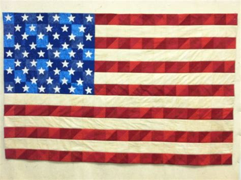 american flag quilt easy pattern i to sew