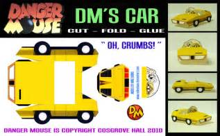 danger mouse dm s car by mikedaws on deviantart