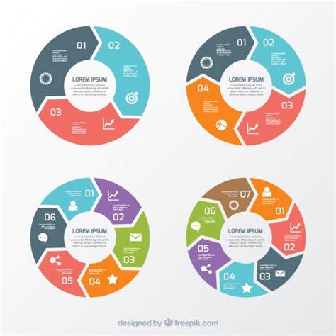 chart layout en español circular bolo vetores e fotos baixar gratis