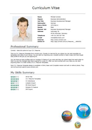 cv template xing how to use the comoto cv commenting system comoto