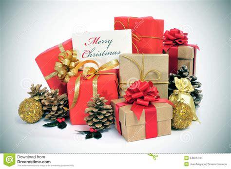 merry christmas stock photo image  celebrate presents