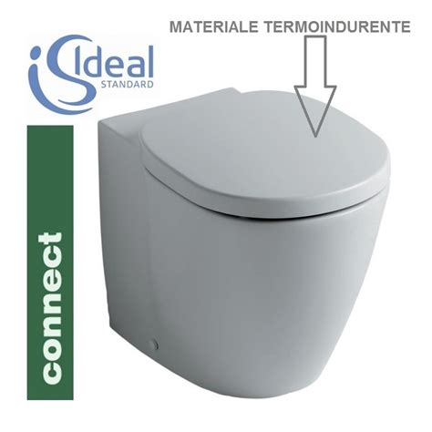 copri vaso ideal standard coprivaso connect in termoindurente originale