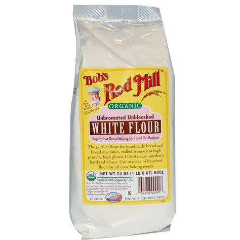 bob s red mill organic white flour unbromated