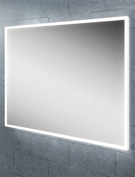 bathroom mirror illuminated hib globe 60 steam free led illuminated bathroom mirror
