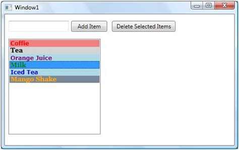 xaml listbox layout listbox in wpf