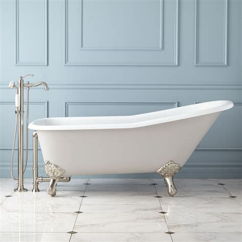 used clawfoot bathtub used clawfoot tub pont de baignoire retro faucet plugs