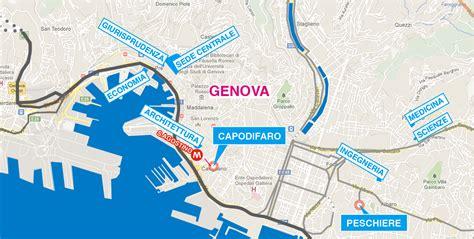 mappa porto di genova genova fondazione rui