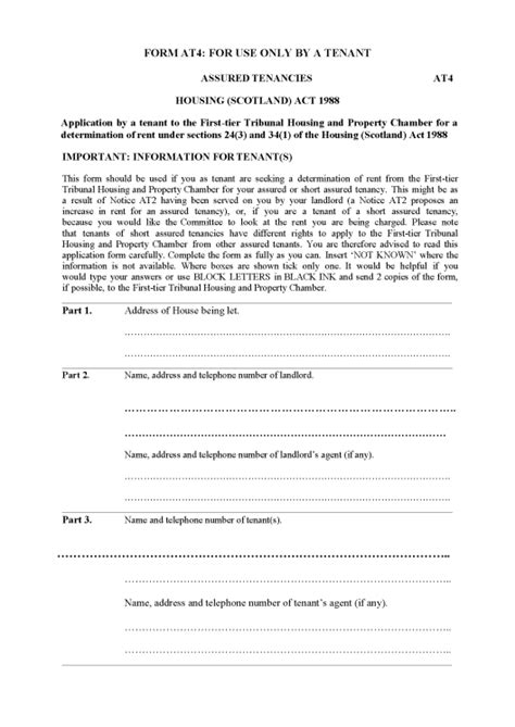 section 27 notice landlord and tenant act the first tier tribunal for scotland housing and property