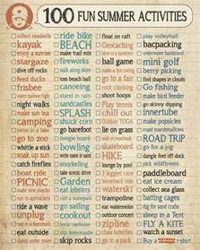 summer ideas 100 fun summer activities
