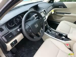 ivory interior 2013 honda accord ex l sedan photo