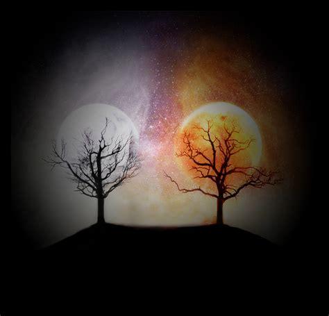 imagenes del sol y luna juntos susurros del corazon castellano mega