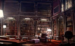 Antique White Bookshelves - hogwarts library readingmaria