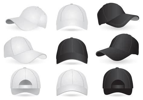 Topi System Of A 4 Distro Trucker Baseball Snapback Tsf04 vector mockup templates of cap and hat free