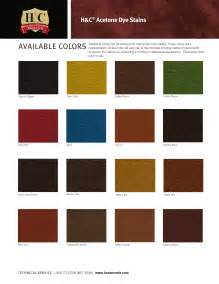 color h h c concrete dyes color chart