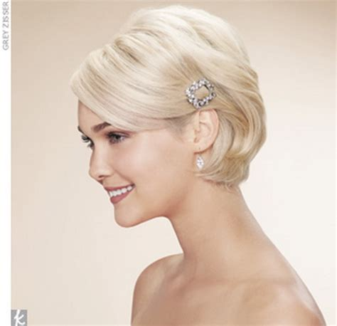 hairstyles for short hair using clips wedding hair accessories for short hair