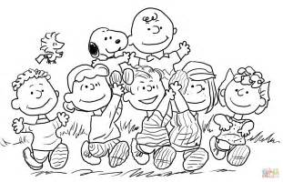 Peanuts coloring pages printable coloring pages