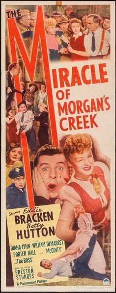 miracle of morgans creek 1000 images about posters on