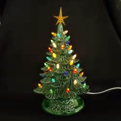 Vintage style ceramic christmas tree 11 inches by darkhorsestore