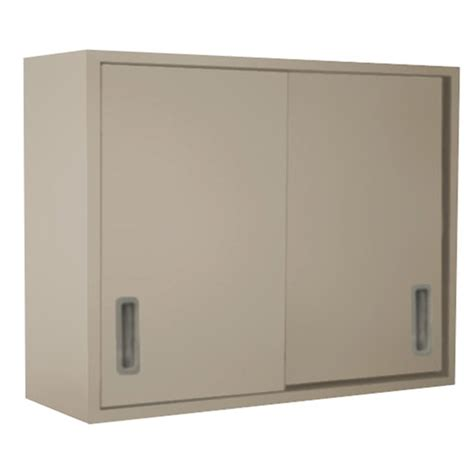 Cole Parmer Wall Cabinet With Solid Sliding Doors 48x30x12 Wall Cabinet Sliding Doors