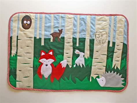 woodland rug running with scissors woodland children s rug