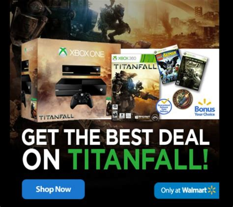 Titanfall Giveaway - walmart has titanfall on xbox and enter the official giveaway