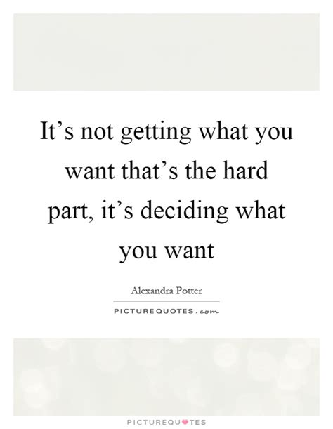 Not What You Expect by It S Not Getting What You Want That S The Part It S