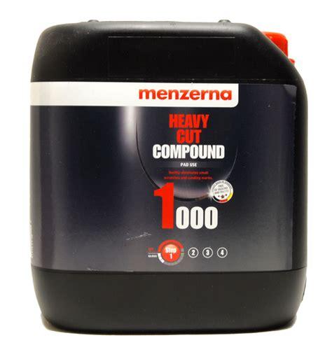 Menzerna Pg 1000 128 oz menzerna heavy cut compound 1000 mernzerna