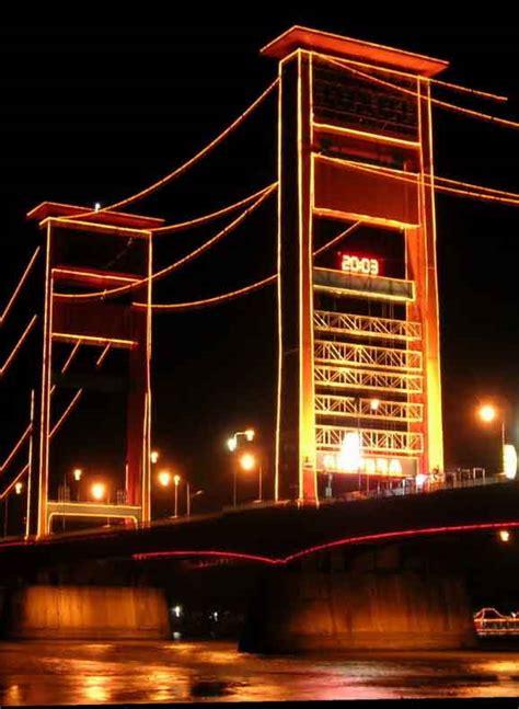 jembatan ampera palembang malamcom