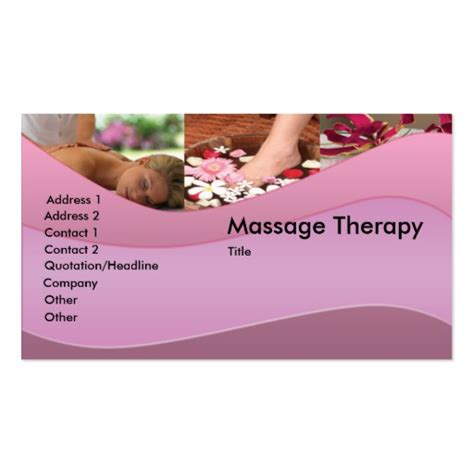 premium massage business card templates bizcardstudio co uk